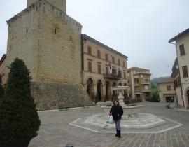 Castelraimondo-Camerino – de onde o trem sai