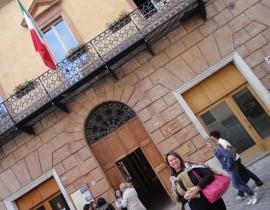 Primeiro dia em Camerino e Pallazzo Comunale Buongiovanni – Macerata – Italia