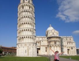 Meu passeio por Pisa – Itália