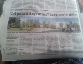 Leve Real e Dólar para a Argentina
