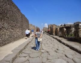 Passeio em Pompéia – Nápoles