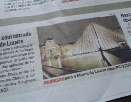 Governo Francês acaba com entrada gratuita para o Museu do Louvre