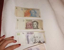 Como reconhecer uma nota falsa de Peso Argentino