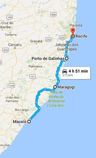 Roteiro De Maceio A Recife De Carro Alugado Otima Ideia